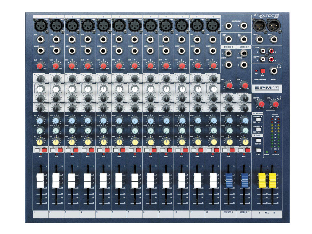 EFX12 Soundcraft Image