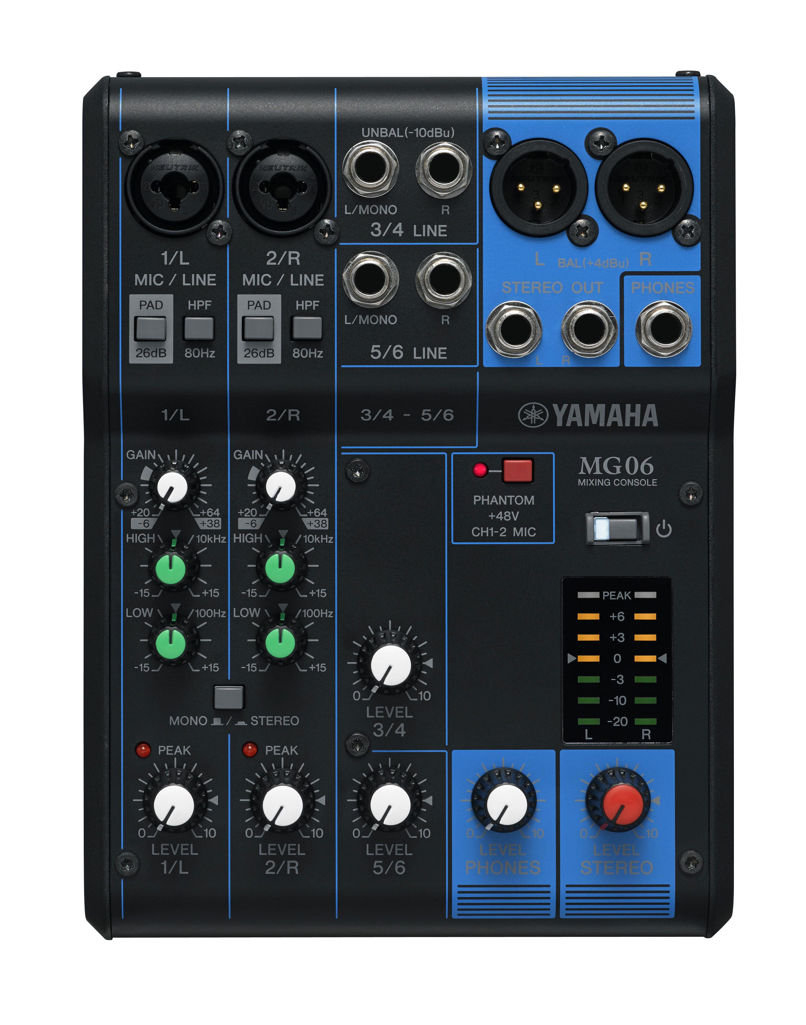 Yamaha MG06 Image